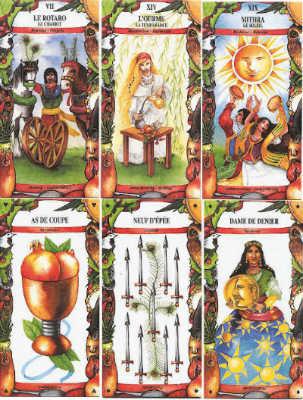cartas del tarot gitano