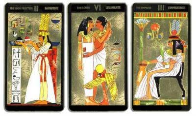 tirada tarot egipcio